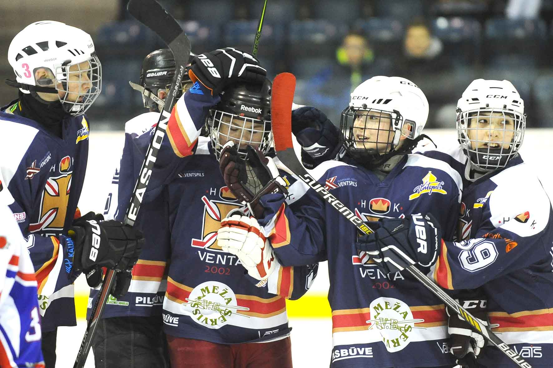 Latvian Children And Youth Ice Hockey League U14 Game On January 21