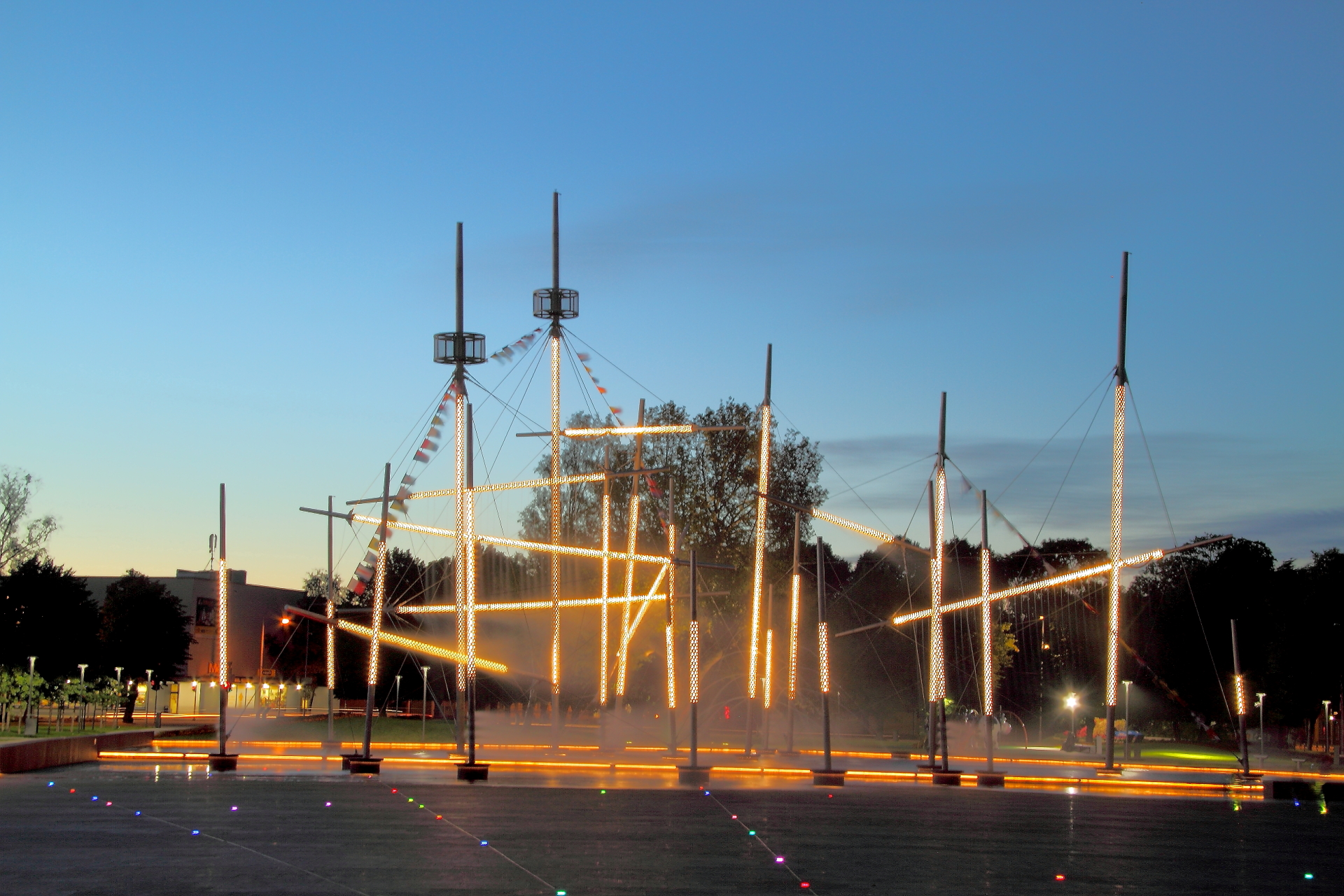 Ventspils Fountains Prepared for Opening of the Season - Ventspils.lv